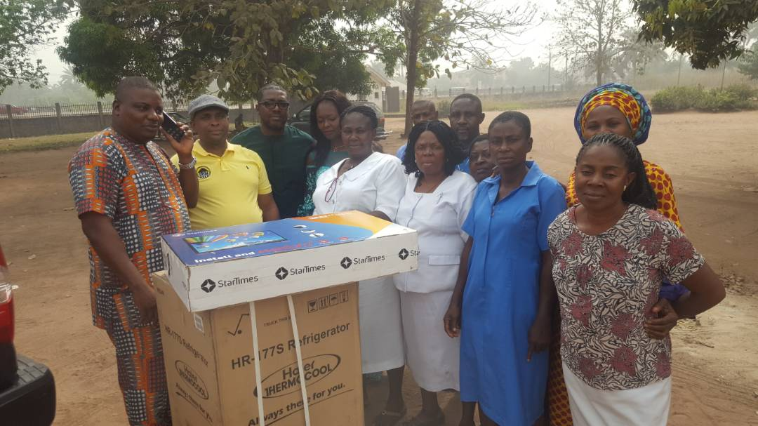 ADF provides items to ACH