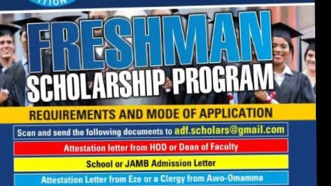2020 Sir Herbert Orioha Scholarship for Awo-omamma Students