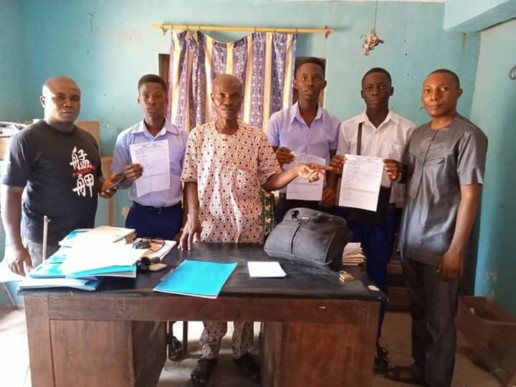 ADF pays WAEC fees from students from Awo-omamma